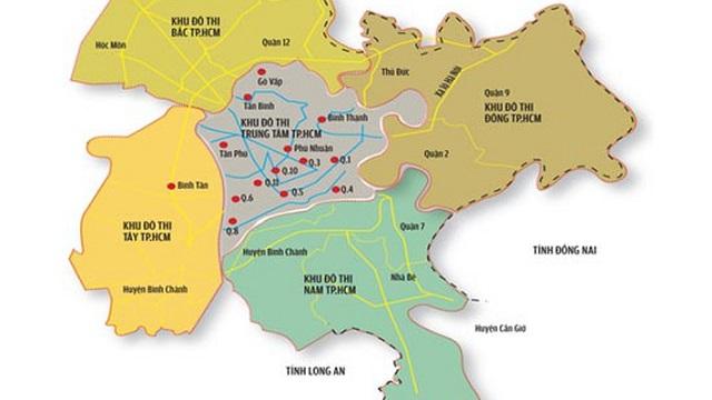Bốn khu đô thị vệ tinh của TP. HCM